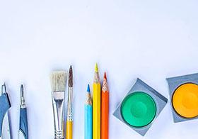 画图工具和着色颜料