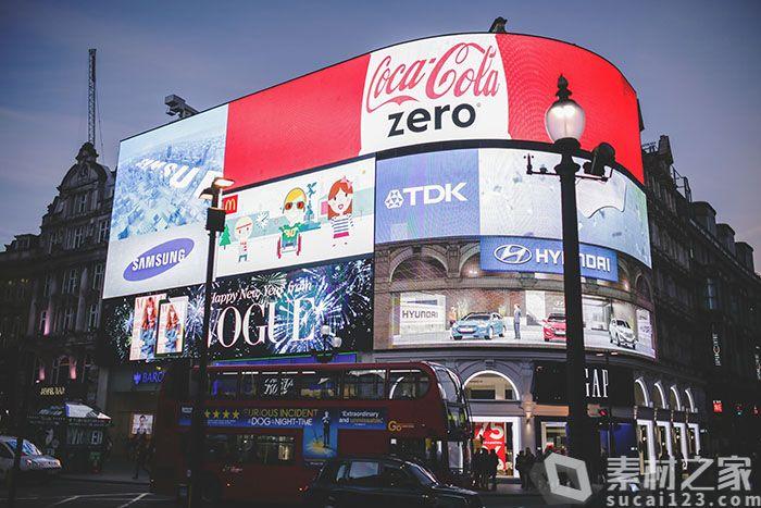 透明液晶广告牌