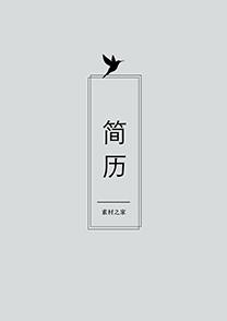 灰色大方网络推广通用简历封面模板