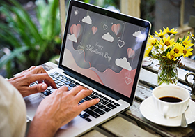情人节界面UI设计高清图