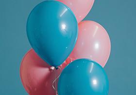 彩色气球封面高清图