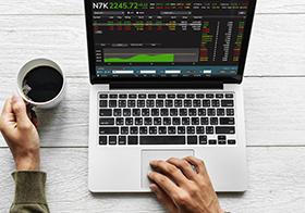 股票详情页界面UI设计