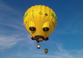 创意热气球高清图