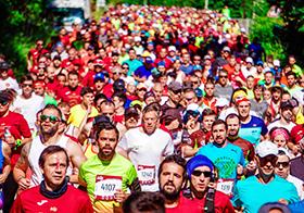 马拉松比赛高清图