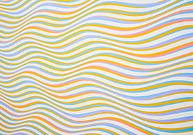 彩色波浪紋理背景高清圖