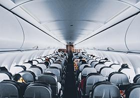 飛機機艙內部座位高清圖