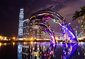 馬來西亞城市夜景高清圖