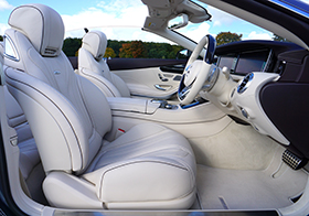 高档汽车前排座位高清图