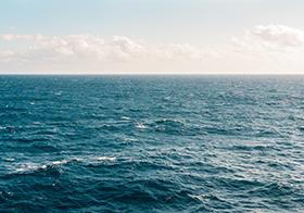 蓝天大海风景高清图