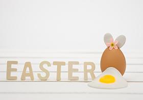 创意复活节彩蛋横幅