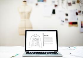 夹克衫简介界面UI设计