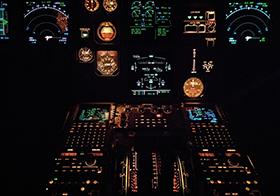 飛機駕駛艙高清圖
