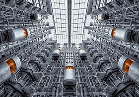 德国智能电梯高清图