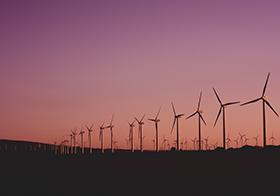 风能发电机高清图