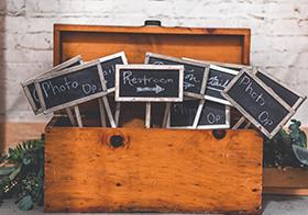 粉筆字小黑板橫幅