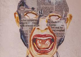 创意人脸海报