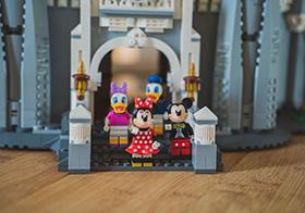 樂高迪士尼城堡卡通人物