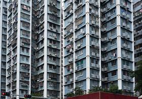 城市蜂巢房屋建筑高清图