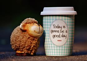 創意咖啡杯廣告標語