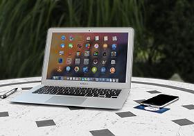 笔记本电脑桌面图标界面UI设计