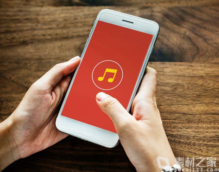 音乐乐符图标界面UI设计