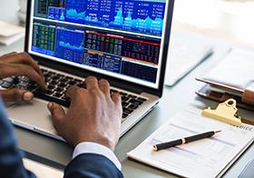 股票证券交易详情页界面UI设计