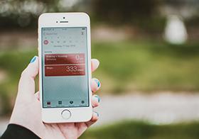 手机记步app内部界面UI设计