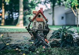 卡通小房子高清图