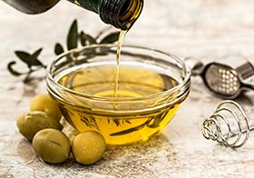 健康食用油橄欖油高清圖