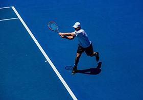網球體育運動高清圖