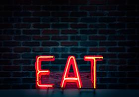 霓虹燈廣告立體字母