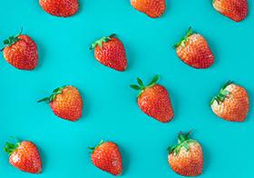新鲜水果草莓高清图