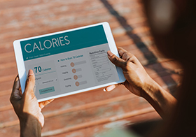 卡路里消耗安排界面UI設計