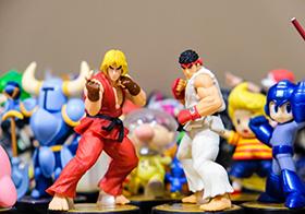 街頭霸王Ken和Ryu手辦