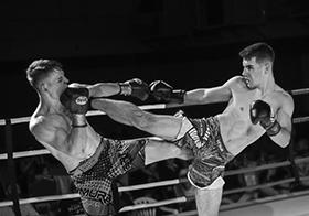 現代體育競技拳擊比賽