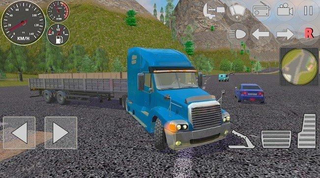 硬卡车模拟器无限金币破解版下载