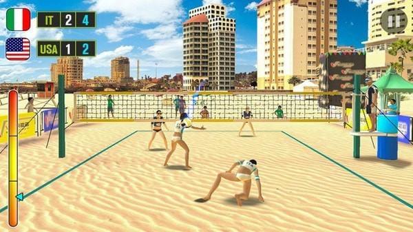 沙滩排球游戏手机版
