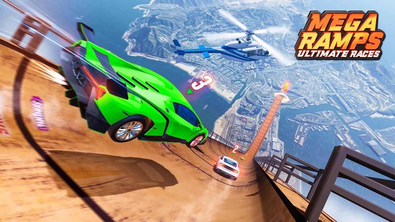 超级坡道终极赛车游戏下载