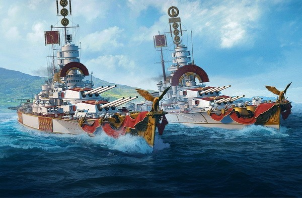 战舰世界亚服中文官方版