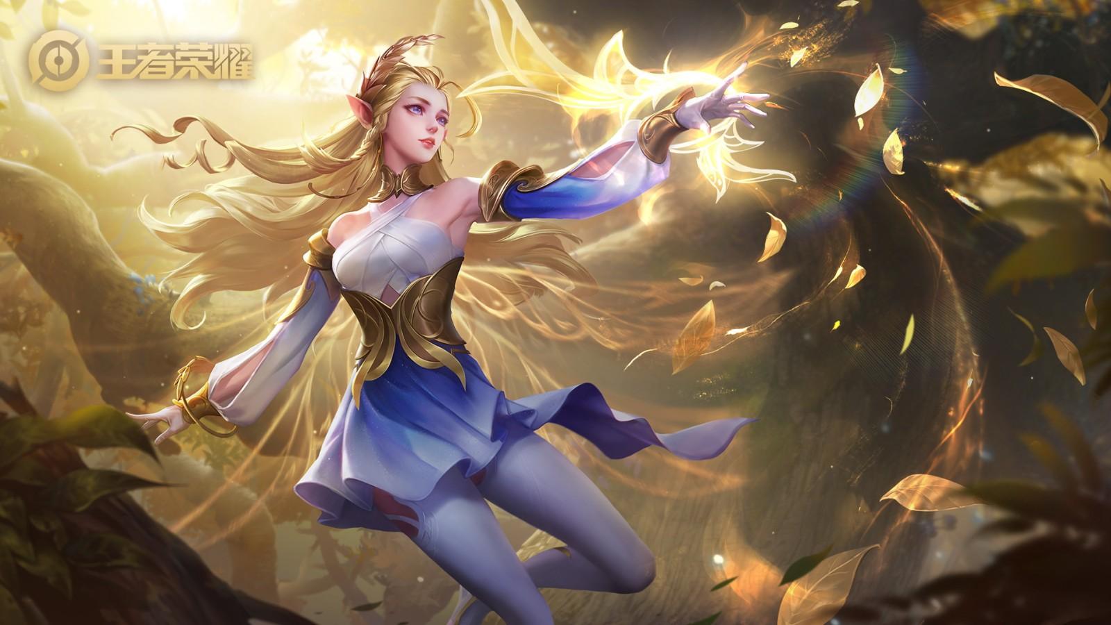 王者荣耀女英雄正能量照片 王者荣耀女英雄正能量图片大全9