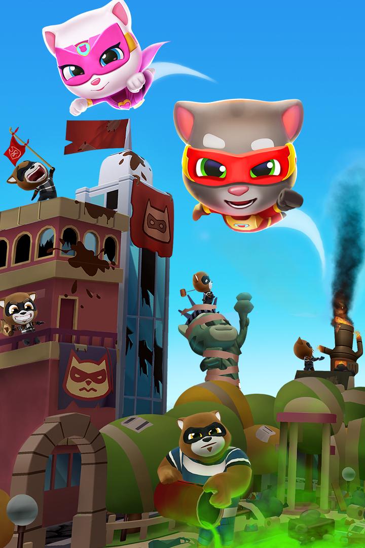 汤姆猫炫跑最新版下载