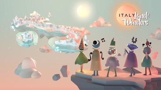 意大利外交部推荐当地风情游戏《神奇之国意大利》,输送国家文化