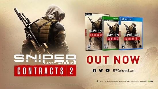 《狙击手:幽灵战士契约2》上线全新游戏后续内容