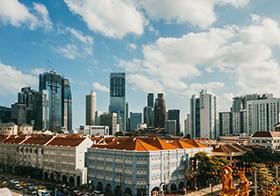白天城市建筑群高清图