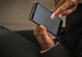 智能手机信息界面UI设计