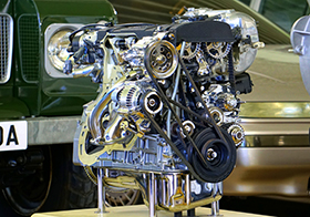 全新汽车发动机高清图