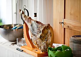 美味西班牙火腿高清图