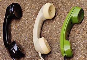 复古电话听筒高清图