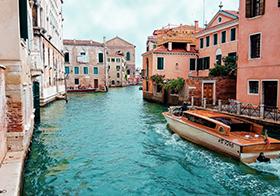 水城威尼斯小镇高清图